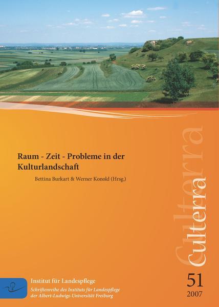 Raum - Zeit - Probleme in der Kulturlandschaft - Coverbild