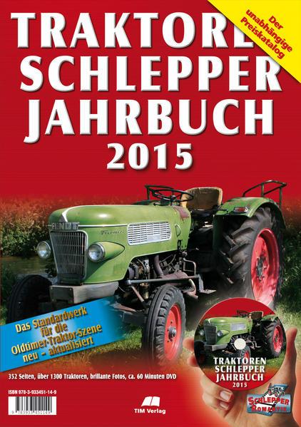 Traktoren Schlepper / Jahrbuch 2015 - Coverbild