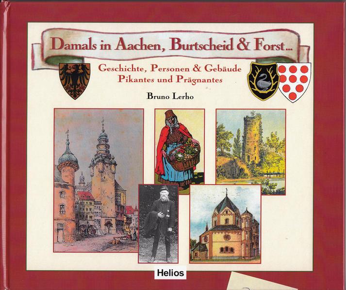 Damals in Aachen, Burtscheid & Forst - Coverbild