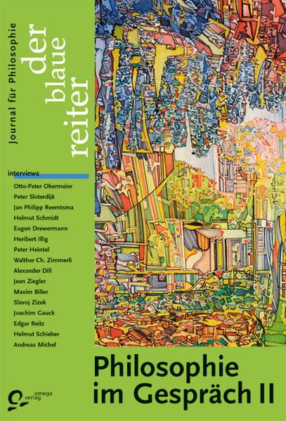 Der Blaue Reiter. Journal für Philosophie / Philosophie im Gespräch II - Coverbild