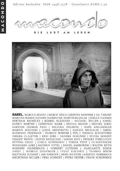 Macondo. Die Lust am Lesen / Babel - Coverbild