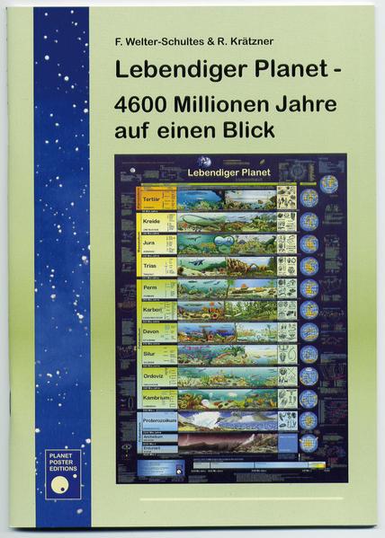 Lebendiger Planet - 4600 Millionen Jahre auf einen Blick - Coverbild
