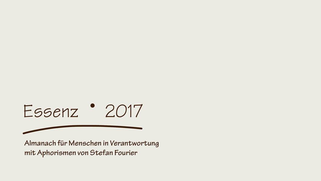 Essenz 2017 - Coverbild