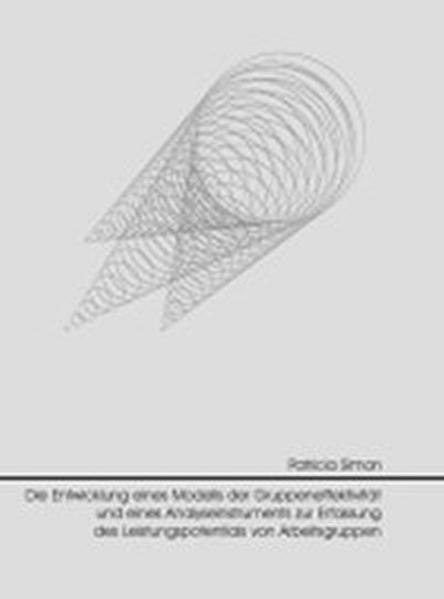 Die Entwicklung eines Modells der Gruppeneffektivität und eines Analyse-Instruments zur Erfassung des Leistungspotentials von Arbeitsgruppen - Coverbild