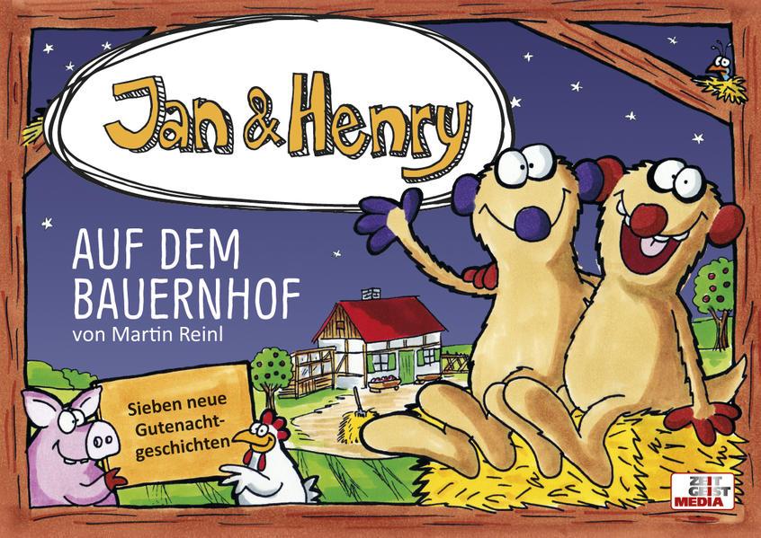Jan & Henry auf dem Bauernhof - Coverbild