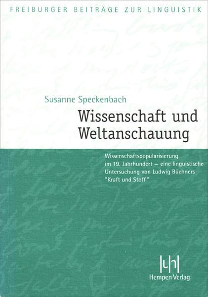 Wissenschaft und Weltanschauung - Coverbild