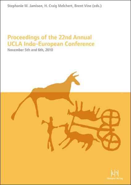 Proceedings of the 22nd Annual UCLA Indo-European Conference - Coverbild