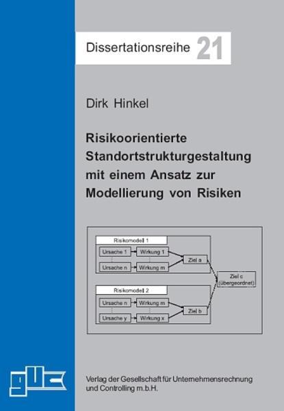Risikoorientierte Standortstrukturgestaltung mit einem Ansatz zur Modellierung von Risiken - Coverbild