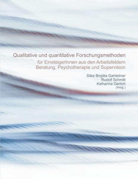 Quantitative und qualitative Forschungsmethoden - Coverbild