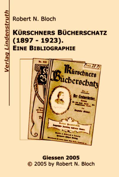 Kürschners Bücherschatz (1897-1923) - Coverbild