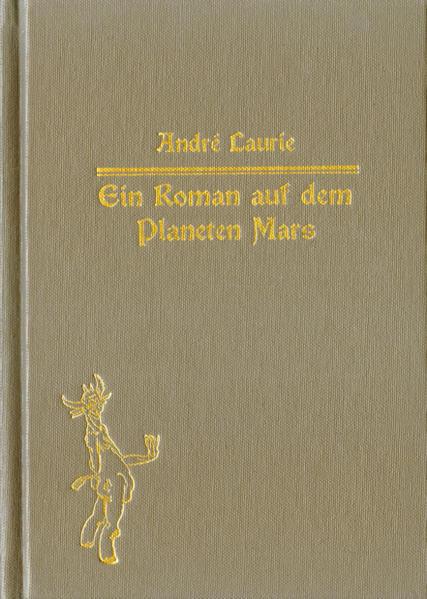 Ein Roman auf dem Planeten Mars. - Coverbild