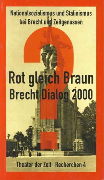 Brecht-Tage 2000 - Coverbild