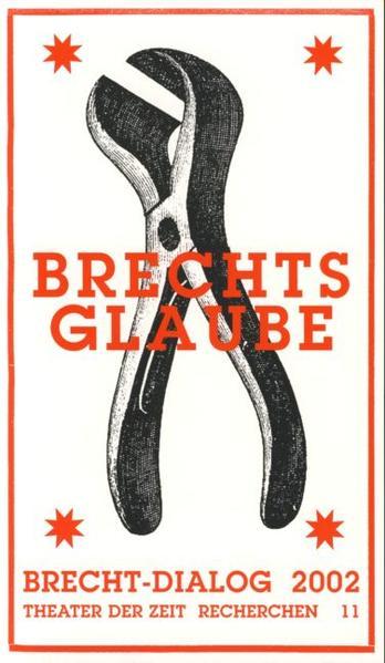 Brechts Glaube - Coverbild