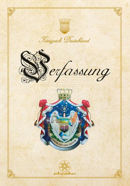 Verfassung des Königreichs Deutschland - Coverbild