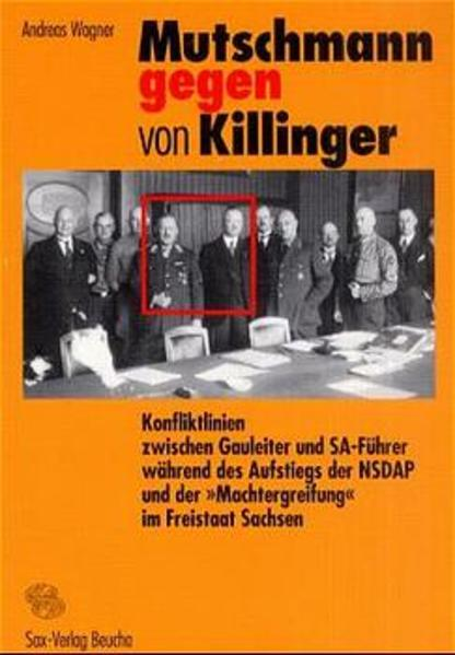 Mutschmann gegen von Killinger - Coverbild