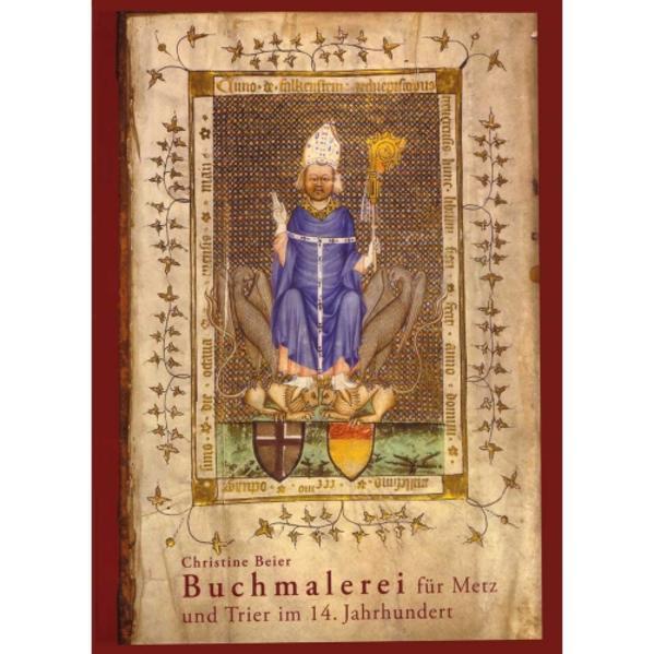 Buchmalerei für Metz und Trier im 14. Jahrhundert - Coverbild