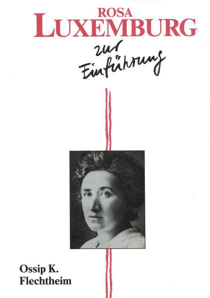 Rosa Luxemburg zur Einführung - Coverbild