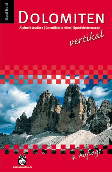 Dolomiten vertikal - Coverbild