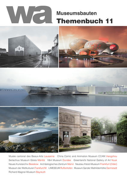 wa Themenbuch 11 Museumsbauten - Coverbild