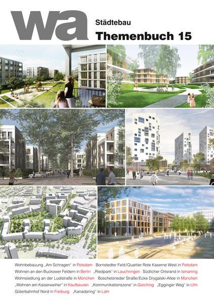 wa Themenbuch 15 Städtebau - Coverbild