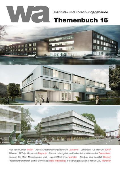 wa Themenbuch 16 Instituts- und Forschungsgebäude - Coverbild
