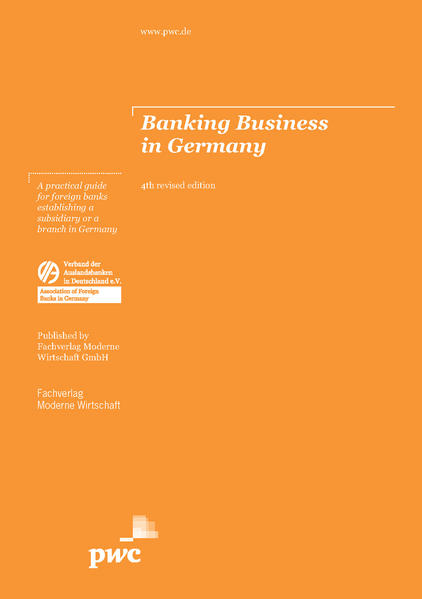 Banking Business in Germany - Coverbild