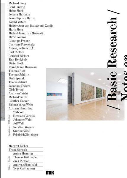 Basic Research / Notes on the Collection - Coverbild