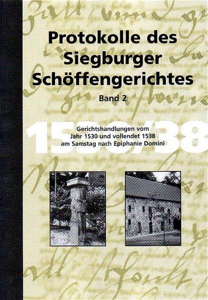 Protokolle des Siegburger Schöffengerichts / Protokolle des Siegburger Schöffengerichtes - Coverbild