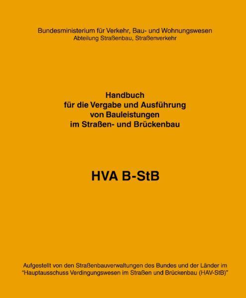 HVA B-StB - Coverbild