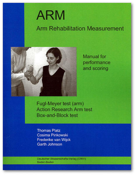 ARM. Arm Rehabilitation Measurement. Manual for performance and scoring - Coverbild