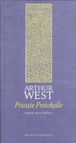 Private Protokolle - Coverbild