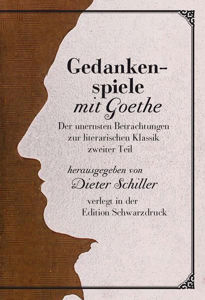 Gedankenspiele mit Goethe - Coverbild