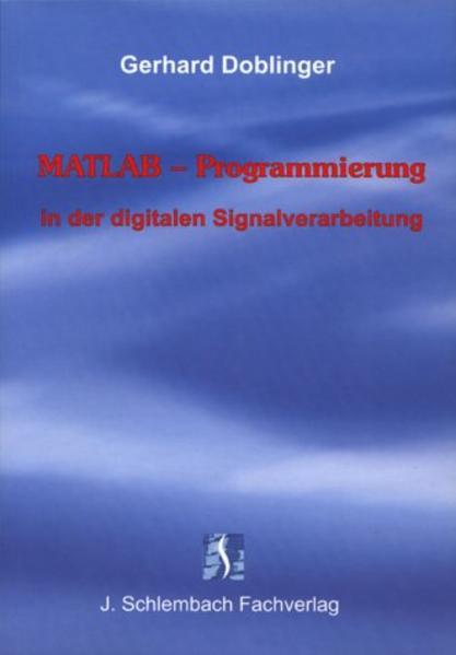 MATLAB-Programmierung in der digitalen Signalverarbeitung - Coverbild