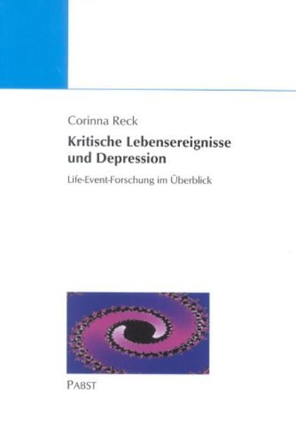 Kritische Lebensereignisse und Depression - Coverbild