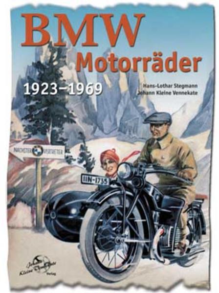 BMW Motorräder 1923-1969 - Coverbild