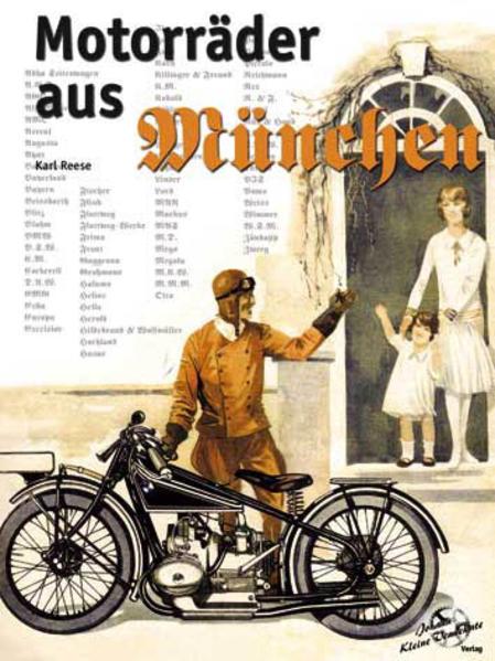 Motroräder aus München - Coverbild