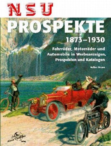 NSU Prospekte 1873-1930 - Coverbild