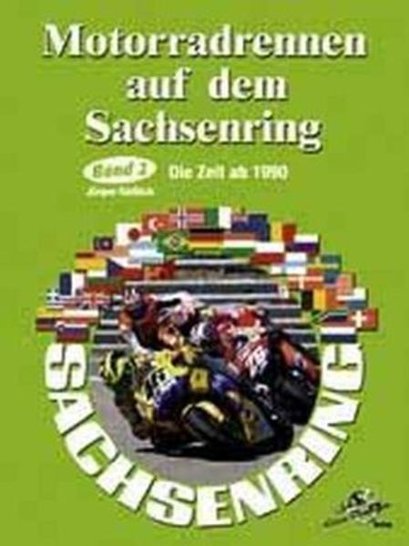 Motorradrennen auf dem Sachsenring. Band 2 - Coverbild