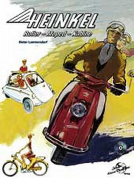 Heinkel. Roller. Moped. Kabine - Coverbild