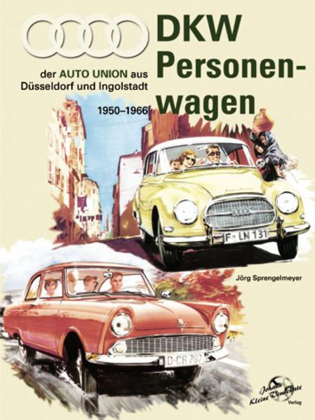 DKW Personenwagen 1950 - 1966 - Coverbild