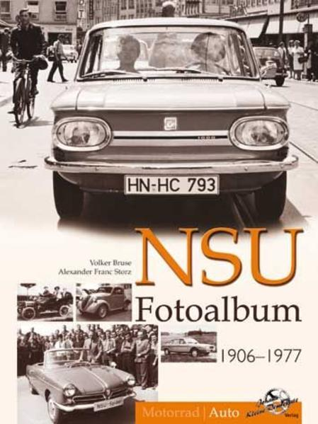 NSU Fotoalbum 1906-1977 - Coverbild