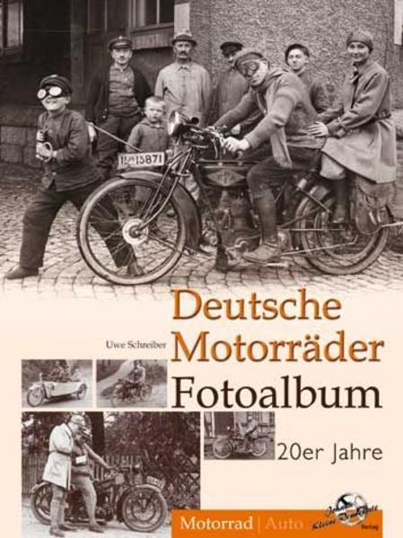 Deutsche Motorräder Fotoalbum 20er Jahre - Coverbild