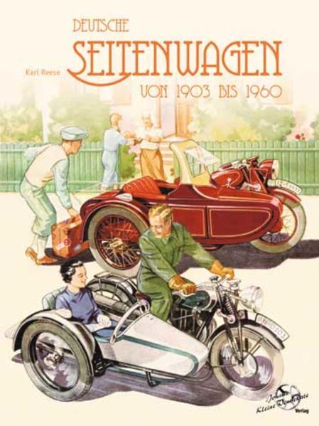 Deutsche Seitenwagen von 1903 bis 1960 - Coverbild