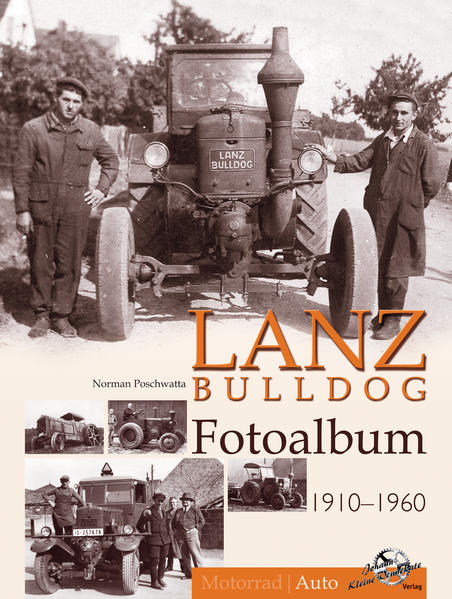 Lanz Bulldog Fotoalbum 1910-1960 - Coverbild