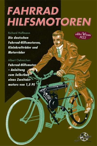 Fahrrad Hilfsmotoren -  Altes Wissen 1922 - Coverbild