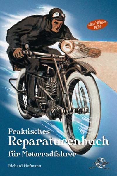 Praktisches Reparaturenbuch für Motorradfahrer - Coverbild