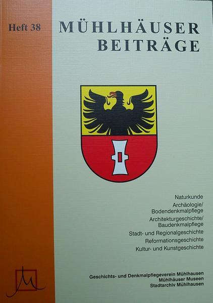 Mühlhäuser Beiträge / Mühlhäuser Beiträge. Heft 38 - Coverbild