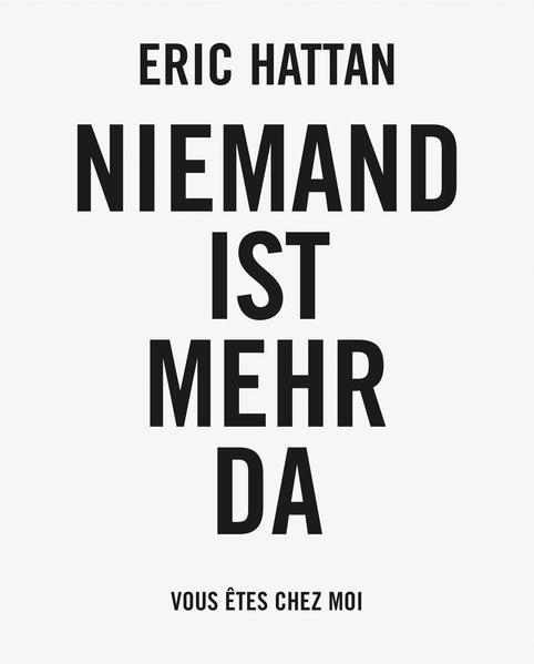 Eric Hattan: Niemand ist mehr da - Coverbild