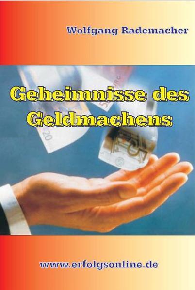 Geheimnisse des Geldmachens - Coverbild