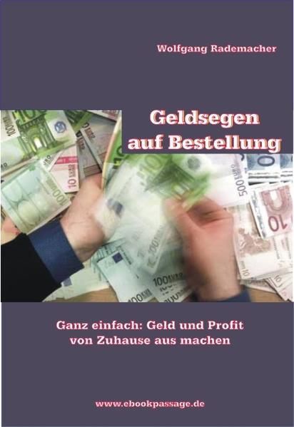 Geldsegen auf Bestellung - Coverbild